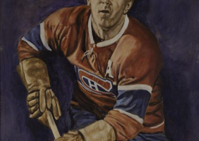 <li>Titre: Maurice Richard</li><li>Médium: Huile sur toile</li><li>Dimension: 36 x 48</li><li> Disponible </li></ul><p>